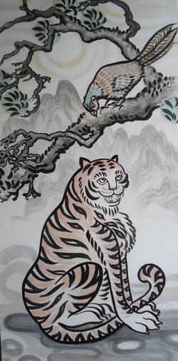 tigre coréen