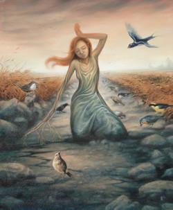 la semence et les oiseaux
