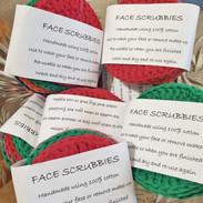 reusable face scrubs