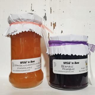 locally made marmalade and preserve