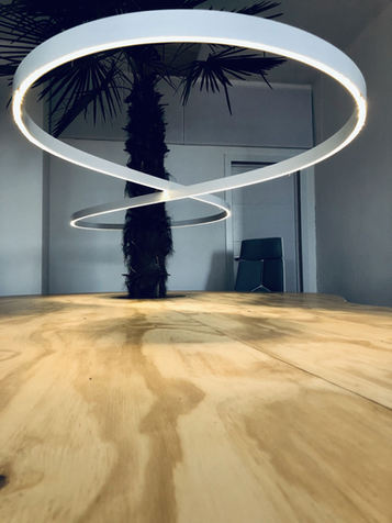 Infility lamp - Flex Desks - TropiCoworking