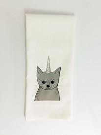 Funny Cat Tea Towel