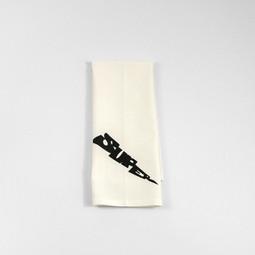Lightning Bolt Tea Towel