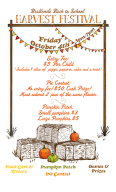 Event Flyer for Harvest Fest