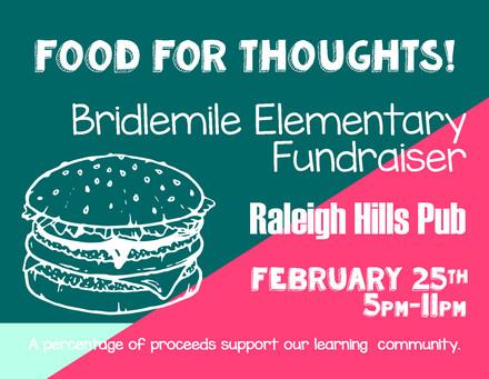School Fundraiser Flyer