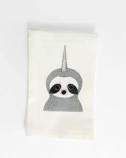 Sloth Tea Towel, unisloth