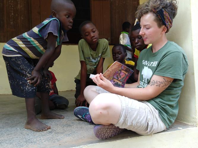 Reading to Children in Africa