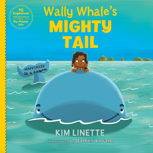 Wally Whale's Mighty Tail: Hardback Book