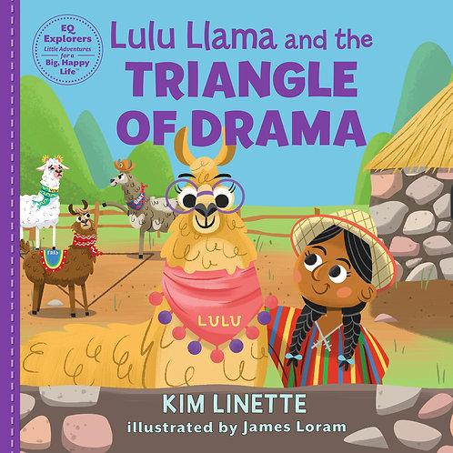 Lulu Llama and the Triangle of Drama: Hardback Book