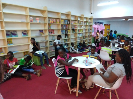 Newly Built Library in Africa