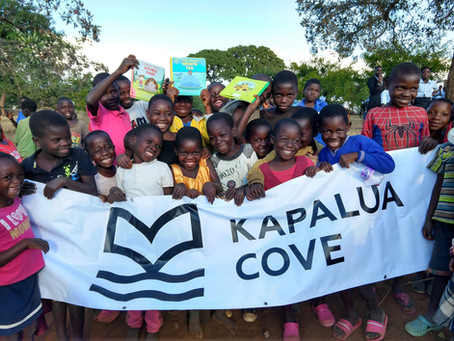 Kadzakalowa Community Celebrates Life-Changing Library in Malawi