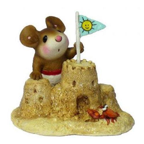 """Sandy's Castle"" Wee Forest Folk"