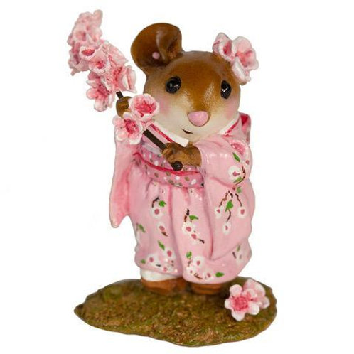 Cherry Blossom Girl by Wee Forest Folk