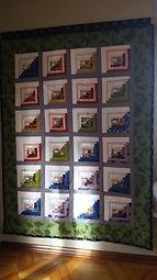 Kimono silk quilt no. 2 as wallhanging.j