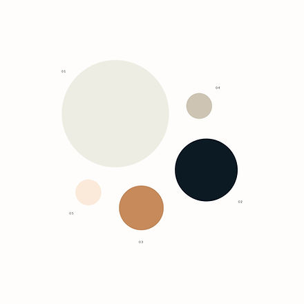 Brand color palette for accessories brand