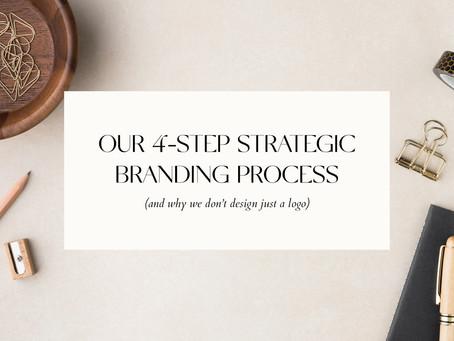 OUR 4-STEP STRATEGIC BRANDING PROCESS