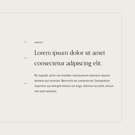 Font system for accessories brand