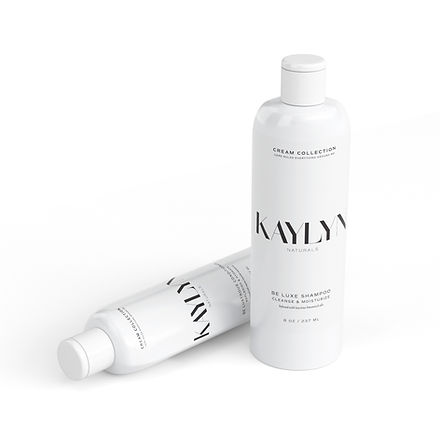 Shampoo and conditioner label and packaging design