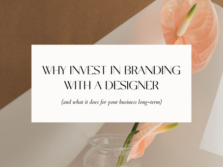 WHY INVEST IN BRANDING