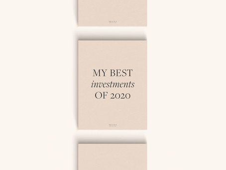 My Best Investments of 2020