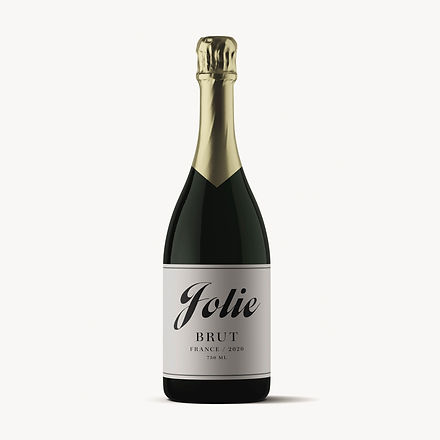 Champagne packaging design