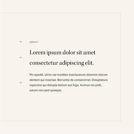 Font system for champagne brand