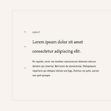 Font system for online boutique branding