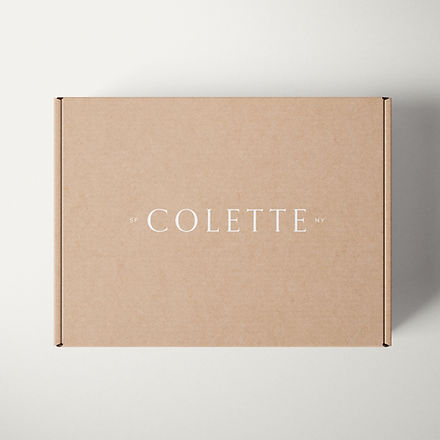Custom shipping box design for accessories brand