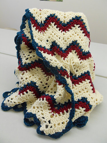 Crochet Ripple Afgan