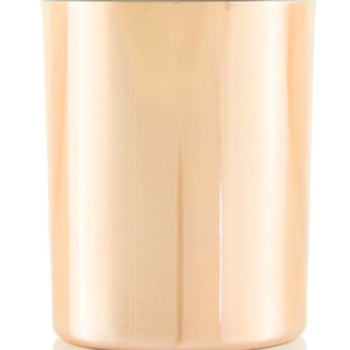Rose Gold Platted Glass 8oz | 48 Candles