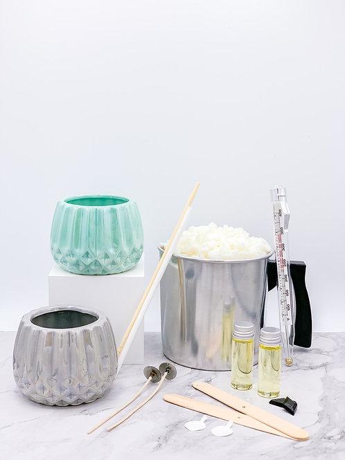 Pastel Ceramic Candle Making Kit