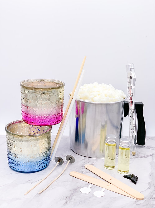 Metallic Ombre Candle Making Kit
