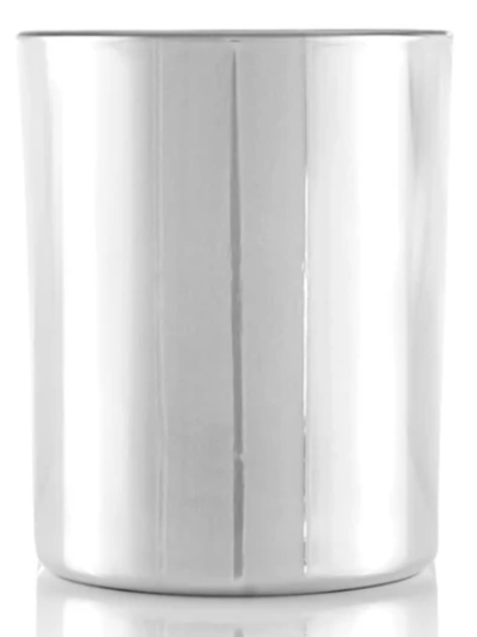 Silver Platted Glass 8oz | 48 Candles