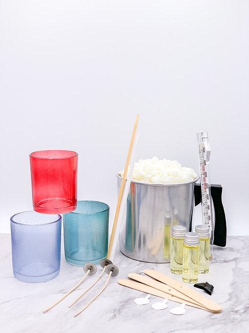 Three Sparkle Candle Making Kit