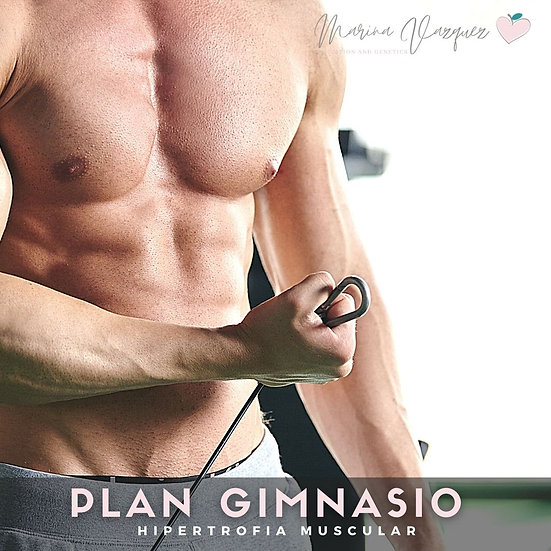 Plan Gym - Gym meal plan