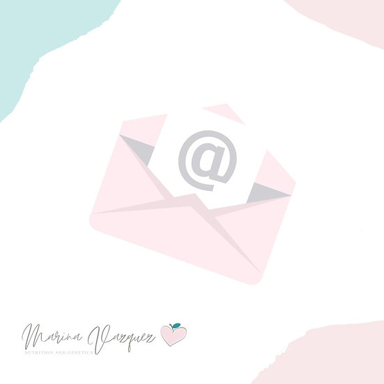 Email:Seguimiento Mensual