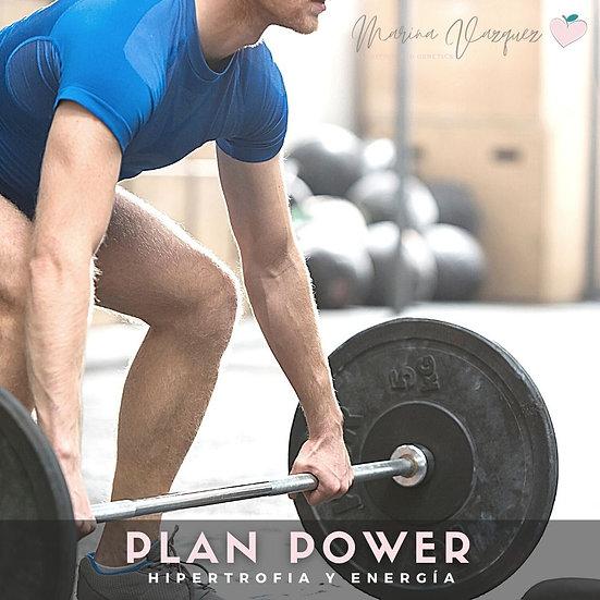 Plan Power - Power meal plan