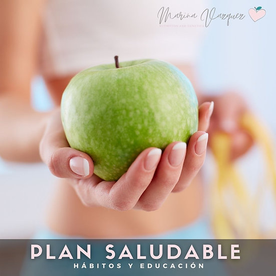 Plan Saludable - Health meal plan