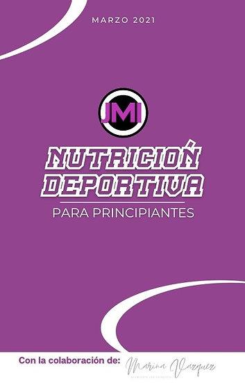 JMI Ebook-Nutrición Deportiva para principiantes
