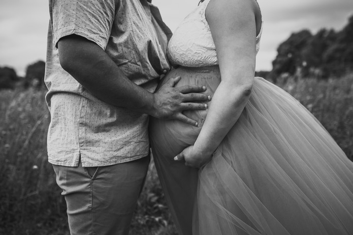Maternity Session Belly Photo