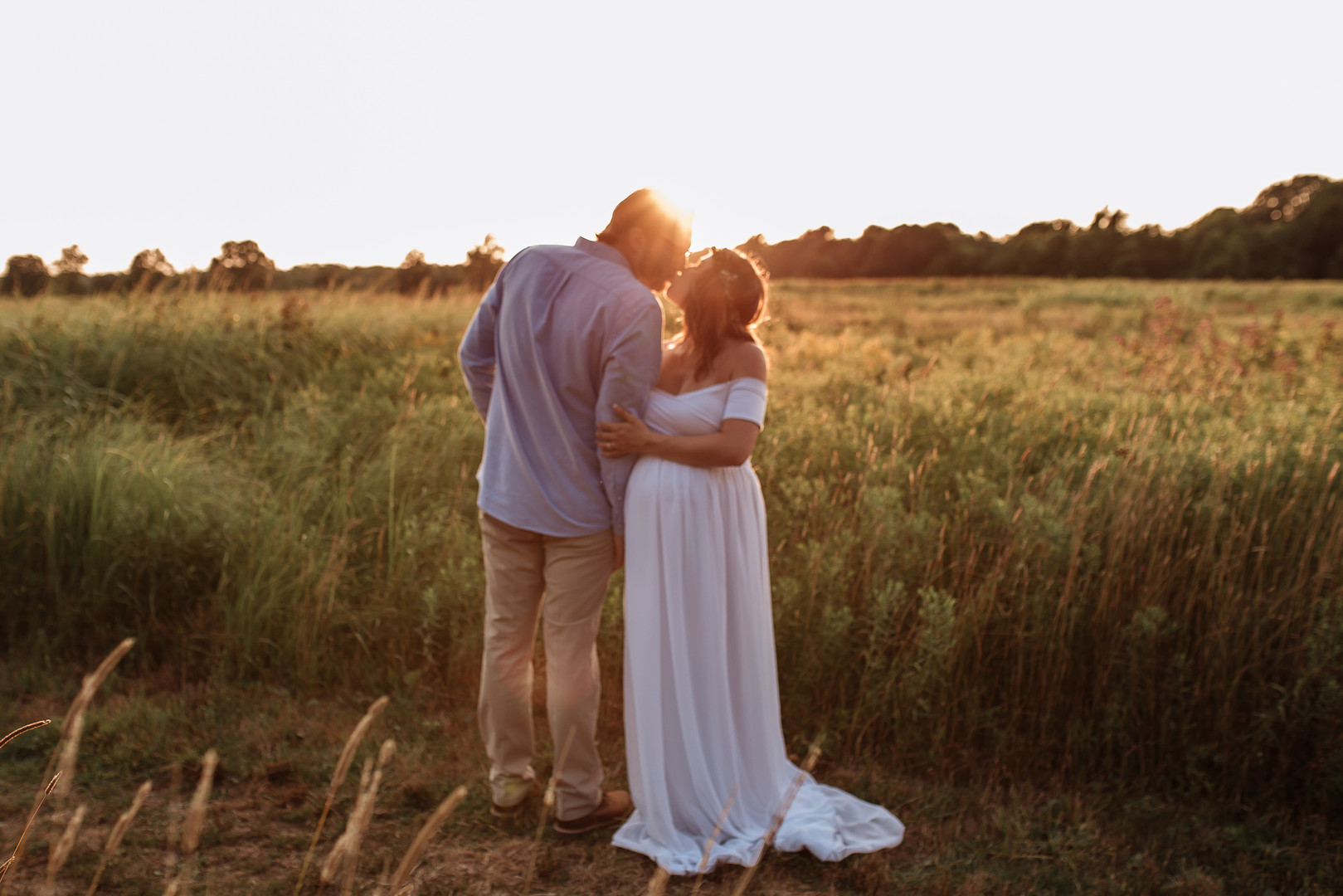 Sunset Maternity Session
