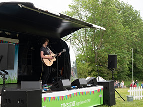 Tom's Stage @ BCDO (Album launch)