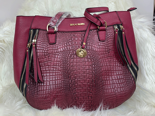 Wine Colored Bag
