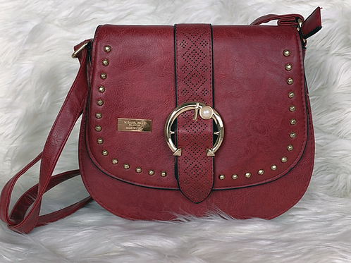 Burgundy Michael Kors