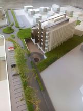 produzione plastico albergo architettura