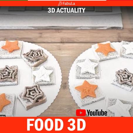 FOOD - 3D ACTUALITY - Stampanti 3D per cibo