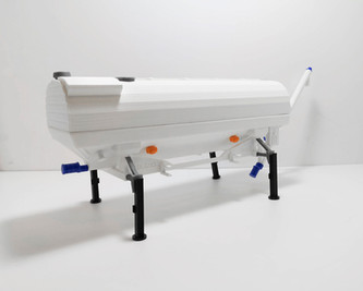 modellino plastico riproduzione machinar