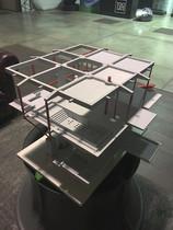 modellino architettura progetto plastico