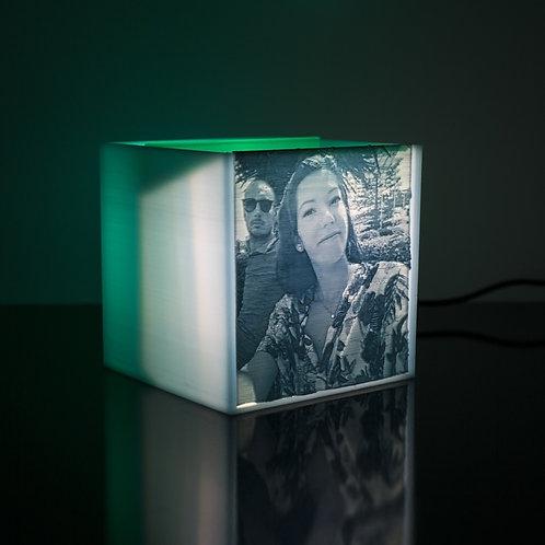 Box Luminoso REGALO con Fotografia Personalizzata