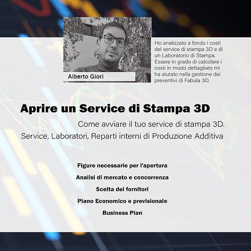 Come aprire un Service di Stampa 3D?